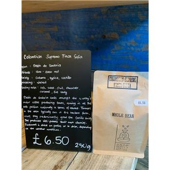 Roast of the Week - Colombian Supremo Finca Sofia (Whole Bean) (250g)