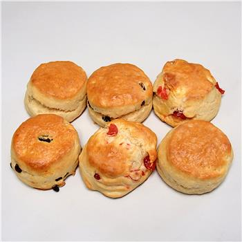 Belfast Bakehouse - Mixed Scones (Pack of 6) (750g)
