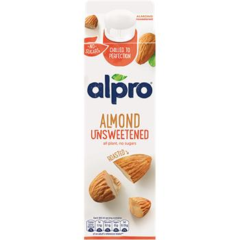 Alpro Almond Fresh Plant Based Drink - Unsweetened (1L)