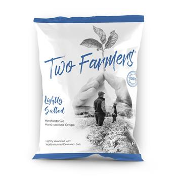 Two Farmers Plastic Free Crisps - Lightly Salted (40g)