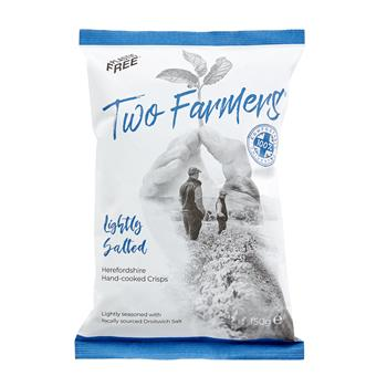 Two Farmers Plastic Free Crisps - Lightly Salted (150g)