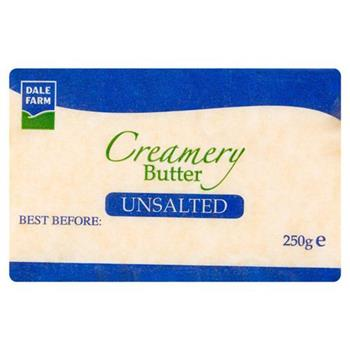 Dale Farm Unsalted Butter (250g)